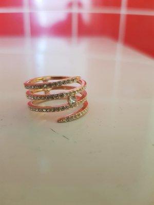 Swarovski Gold Ring gold-colored