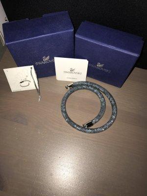 Swarovski Armband donkerblauw Nylon