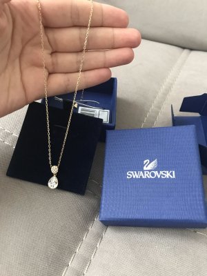 Swarovski Necklace gold-colored
