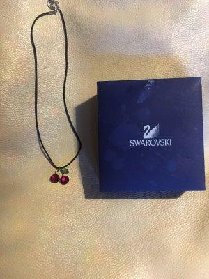 SWAROWSKI Kette mit Kirsche