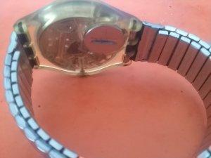 Swatch Horloge met metalen riempje veelkleurig Gemengd weefsel