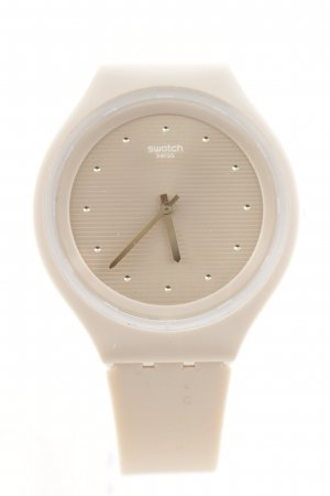 Swatch Analoguhr hellrosa Casual-Look