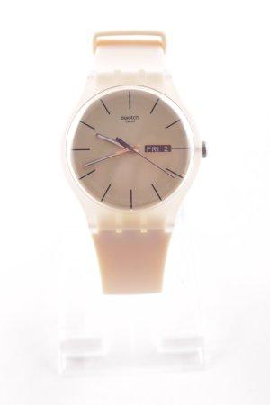 Swatch Orologio analogico rosa pallido stile casual