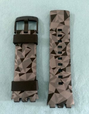 "Swatch Armband - Digitaluhr: Swatch Touch ""Grey Facets"""