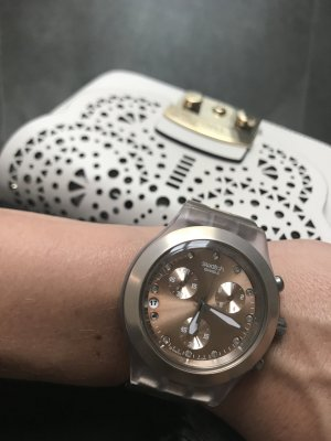 Swatch Chrono Full-Blooded - Unisex rosé