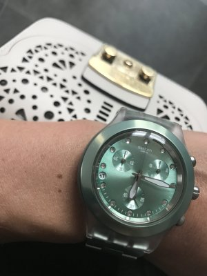 Swatch Chrono Full-blooded- Unisex türkis