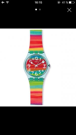 Swatch Damenuhr Color the Sky Neu!