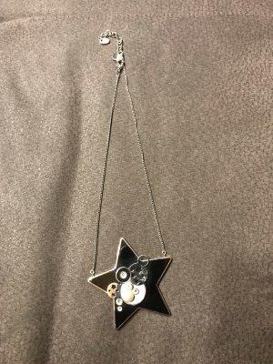 Swatch Collier argenté-noir bronze