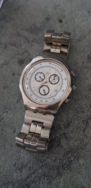 Swatch Analog Watch silver-colored stainless steel