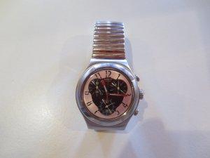 Swatch Irony Chrono, dk. braun, Metallband, selten getragen