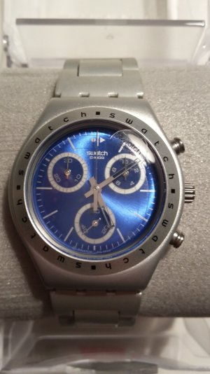 Swatch Irony Chrono Medium Hypnotic NEU!