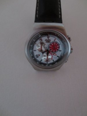 Swatch Irony Chrono Uhr, 47 cm Durchmesser, neue Batterie