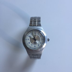 Swatch Irony mit Metallarmband