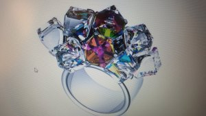 Swatch Ring Love Explosion NEU