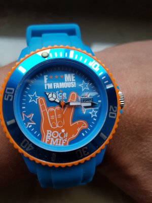 Swatch Orologio analogico blu