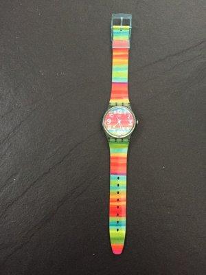 Swatch Analoog horloge groen-neonrood