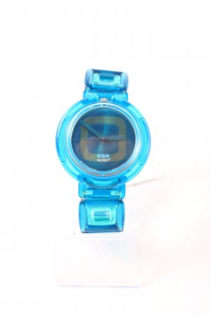 Swatch Watch blue-lime-green '90s style