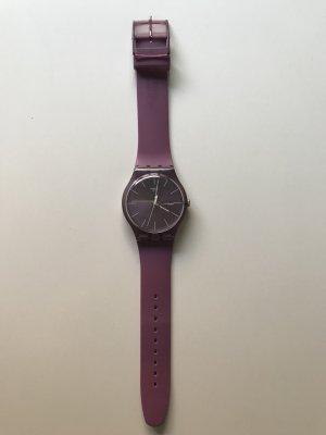 Swatch Uhr in Flieder/Lila