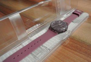 SWATCH Uhr lila