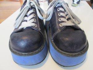 Swear Vintage 90er Plateau Schuhe violett/blau Gr. 37 Rarität