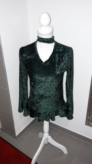 & other stories Bodysuit Blouse dark green