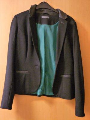 Yessica Blazer en jersey noir polyester