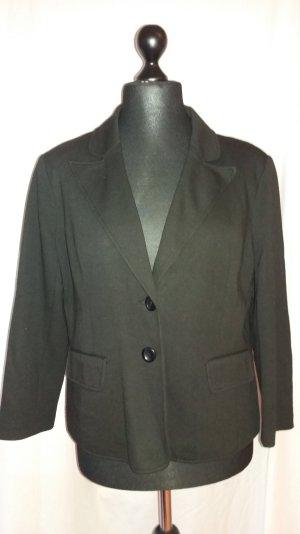 Sweat-blazer schwarz
