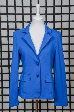 Made in Italy Blazer sweat bleu fluo tissu mixte