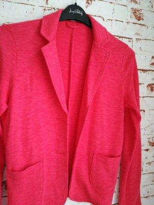 s.Oliver Jersey Blazer red cotton