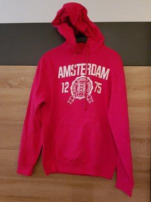 Sweat Hoodie Amsterdam Pink Gr. M
