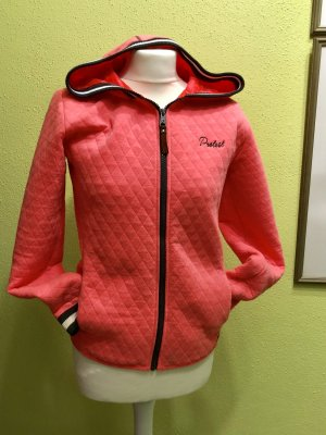 Sweat Jacke - Protest - pink Gr 176