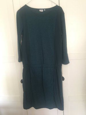Sweat Kleid petrol meliert Object Gr.M