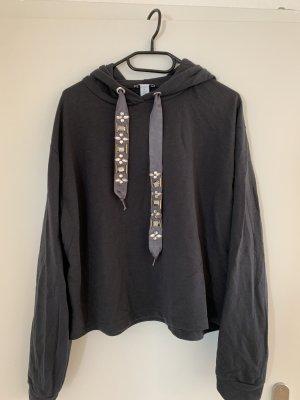 Amisu Hooded Sweater anthracite
