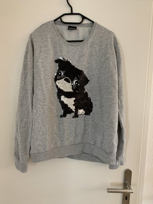 Takko Crewneck Sweater light grey