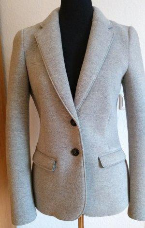 Esprit Sweat Blazer silver-colored cotton