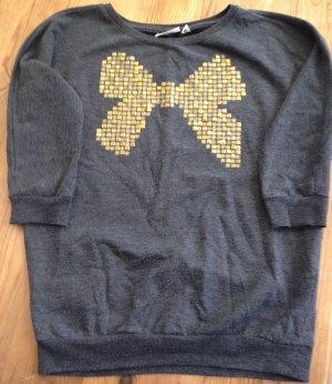 Sweat Shirt Größe S grau/Gold