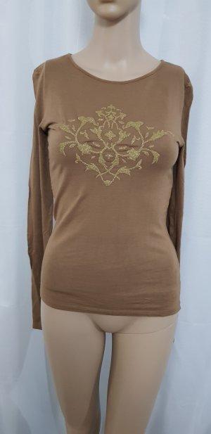 sweat Shirt Pullover braun zero