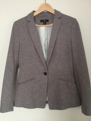 H&M Sweat Blazer grey