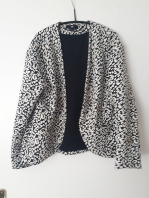 Sweatblazer mir Animalprint
