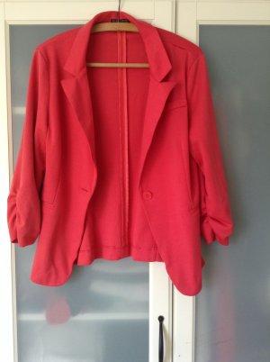 Blazer rosso chiaro Cotone