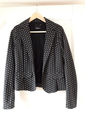 Sweatblazer mit Dots