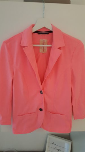 Tom Tailor Denim Sweat Blazer neon pink