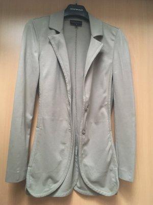 Sweatblazer schlamm tauge grau beige