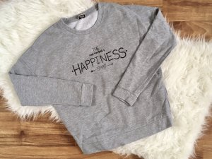 Pimkie Pullover in pile grigio chiaro-nero