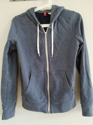 H&M Sweat Jacket blue