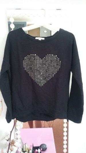 Sweater Esprit Schwarz mit Herz