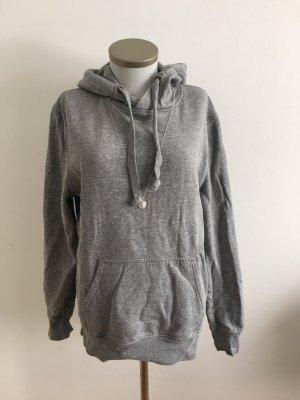 Sweater Hoodie grau