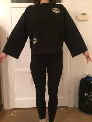 Mango Basics Sweat Shirt black