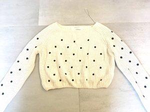 Sweater mit Schwarzen Punkten