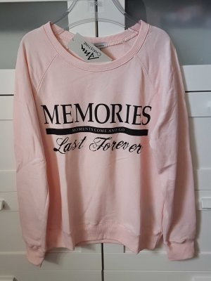 Sweater mit Slogan Gr. M